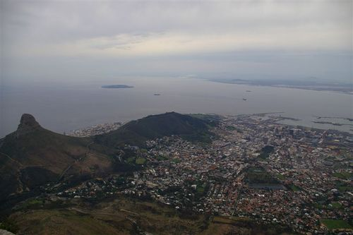 Cape Town from Up High