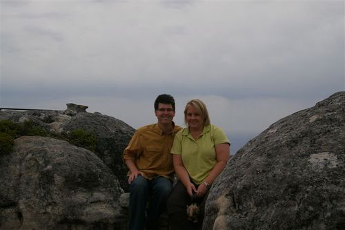That's the Cape of Good Hope far behind us