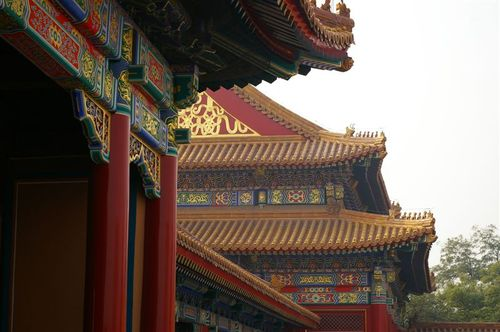 Roof lines in the Forbidden City