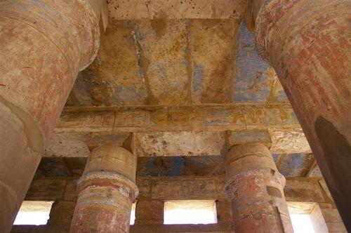 Looking up at Karnak