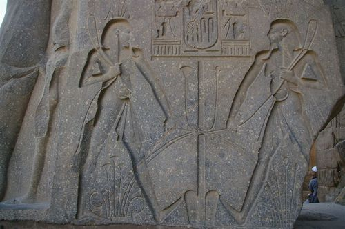 Nile as the throat and lungs of Egypt