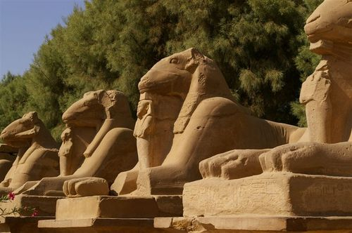 The Karnak Side of the 3km road