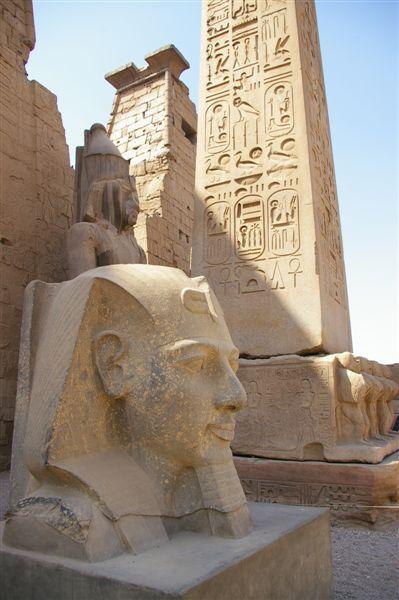Ramses II had a big head
