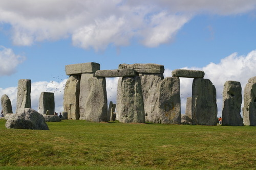 Stonehenge was built at the same time as the first pyramids