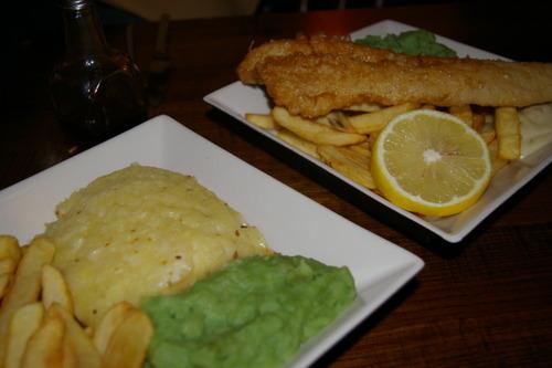 Mushy Peas, Fish & Chips, Shepherd's Pie