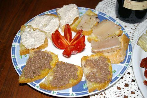 Homemade Bruscetta