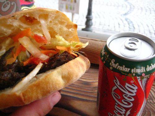 Kebab and Coke