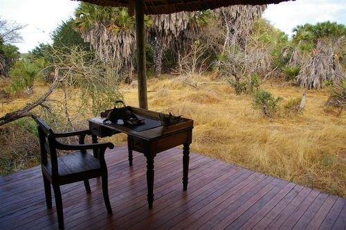 Porch in the Selous