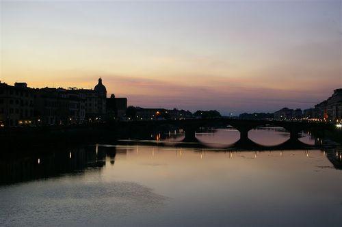 Arno at dusk