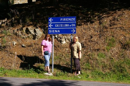 on the Chiantigiana