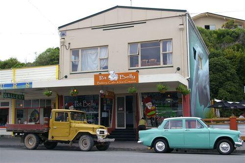 Downtown Kaikoura
