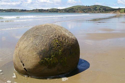 boulder close up