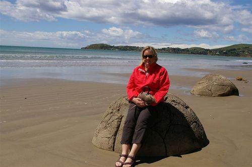 Hey, I'm on a boulder