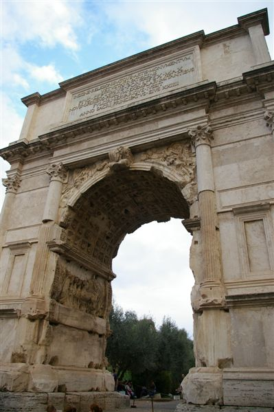 Another view of the arch
