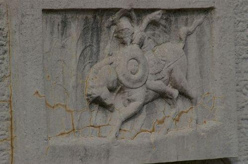 I liked the mounted gladiator