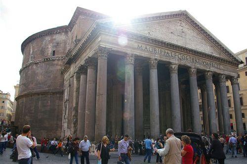Pantheon, outside