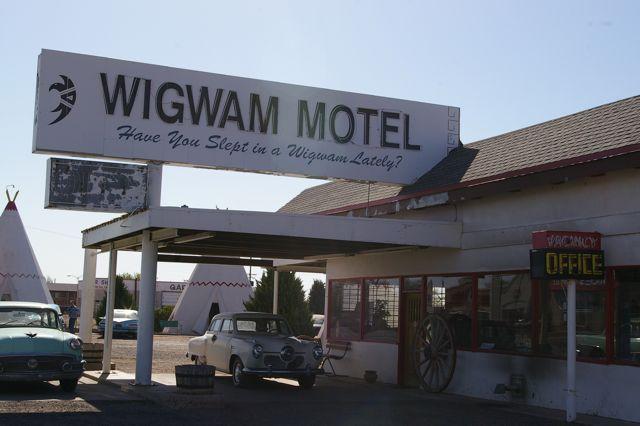 Spend the night in a Wigwam!
