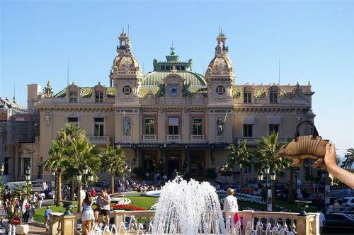 At the casino in Monaco